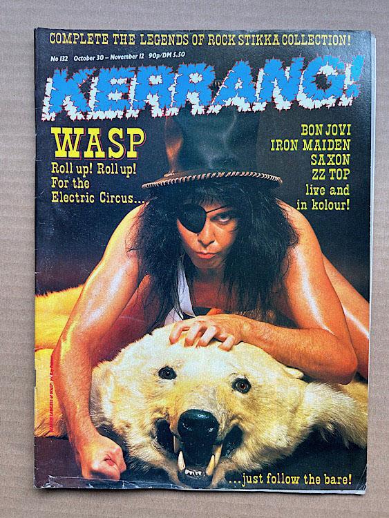 WASP - KERRANG NO.132