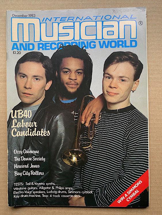 UB40 - INTERNATIONAL MUSICIAN