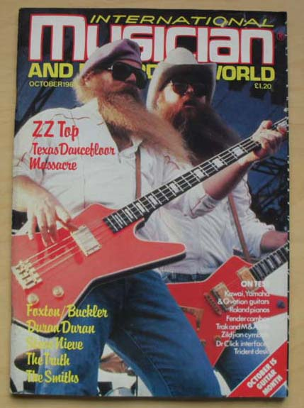 ZZ TOP - INTERNATIONAL MUSICIAN