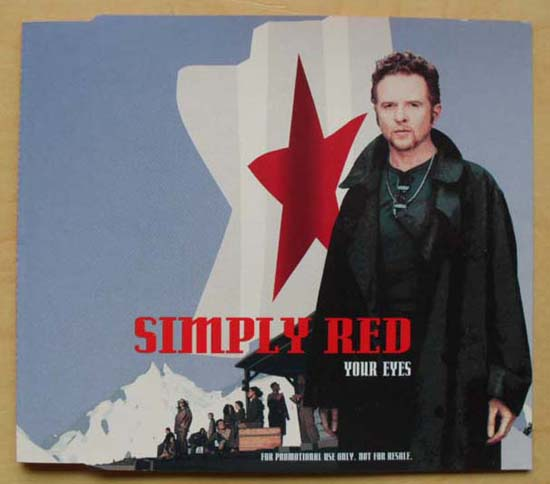 SIMPLY RED - Your Eyes LP