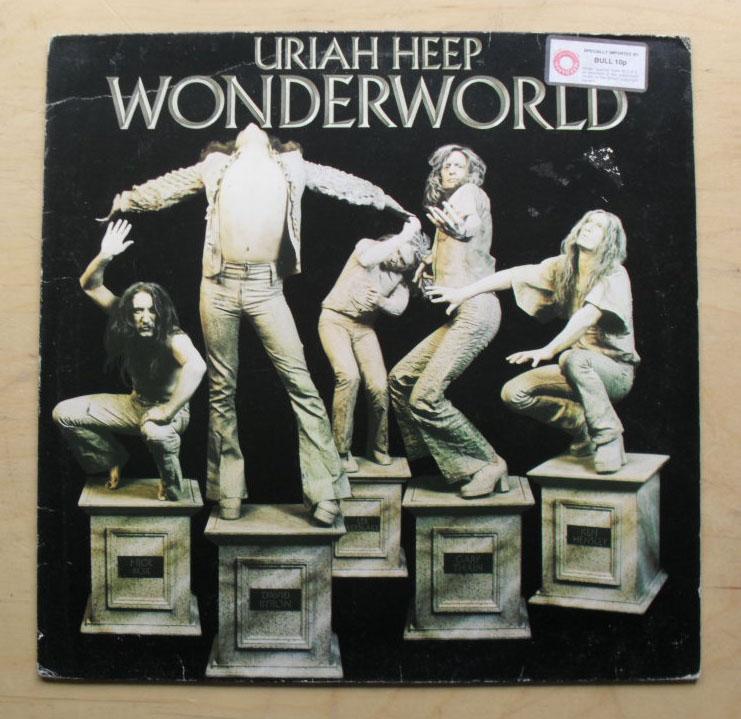 Wonderworld By Uriah Heep Lp With Rockofages Ref 3105803180