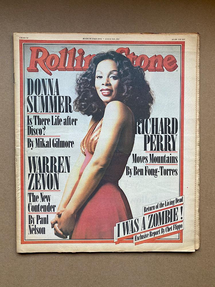 DONNA SUMMER - ROLLING STONE NO.261 - Magazine