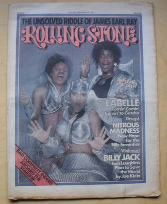 LABELLE - ROLLING STONE NO.190