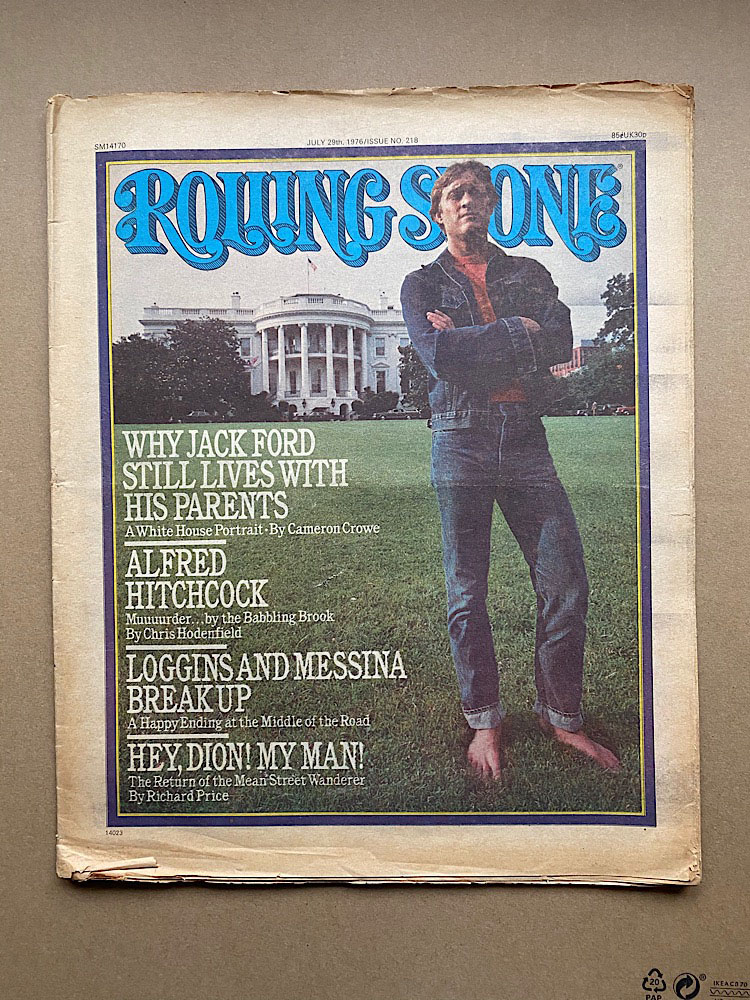 JACK FORD - ROLLING STONE NO.218