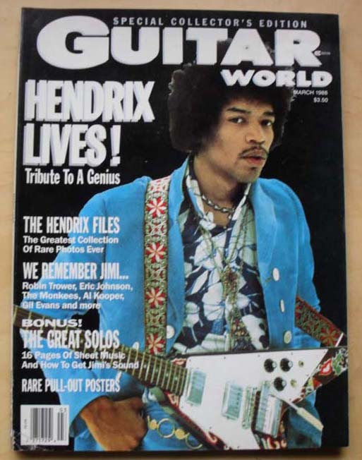 JIMI HENDRIX - Guitar World Album