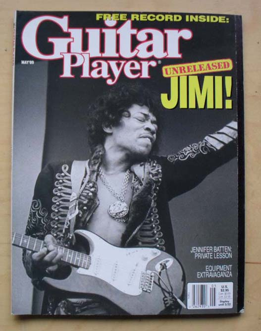 Guitar Player - JIMI HENDRIX