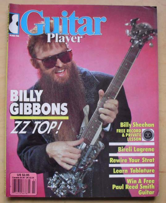 ZZ TOP - GUITAR PLAYER