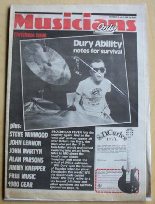Ian dury musicians ony records lps vinyl and cds musicstack ian dury musicians ony solutioingenieria Gallery