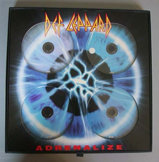 DEF LEPPARD - Let's Get Rocked (4xcd Box Set)