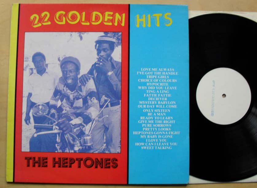 HEPTONES - 22 GOLDEN HITS(W/L) - 33T