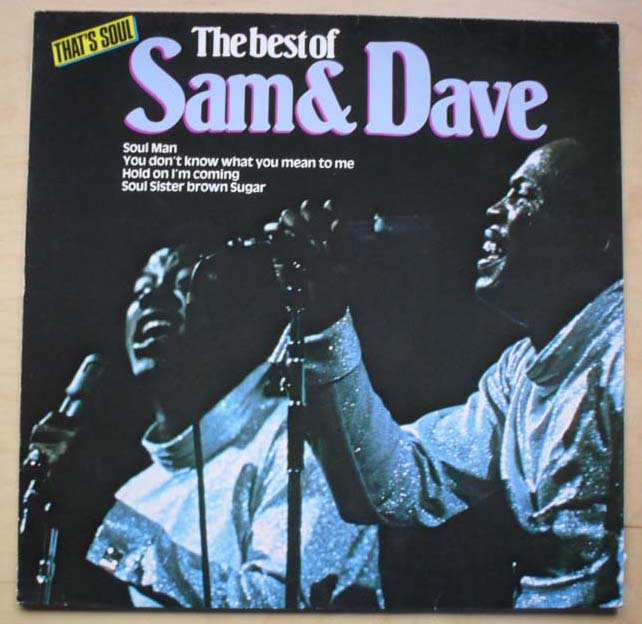 SAM AND DAVE - BEST OF - LP
