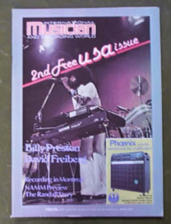 BILLY PRESTON - INTERNATIONAL MUSICIAN - Magazine