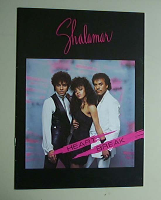 SHALAMAR - HEART BREAK TOUR - Concert Program