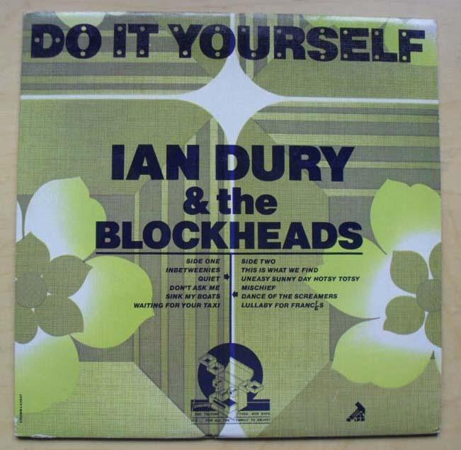 IAN DURY - DO IT YOURSELF (L43547)