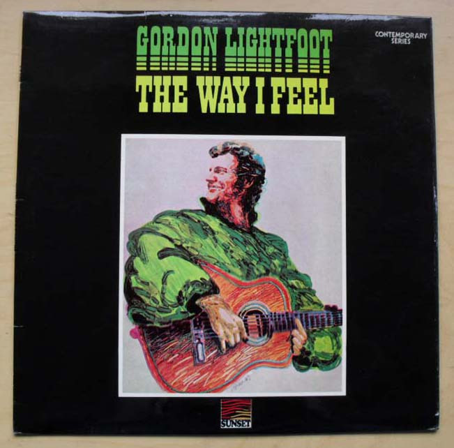 GORDON LIGHTFOOT - THE WAY I FEEL - 33T