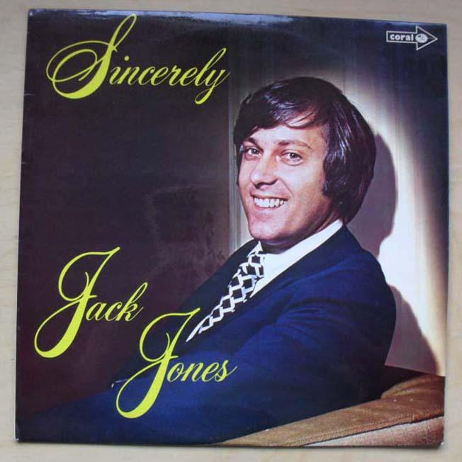 JACK JONES - SINCERELY