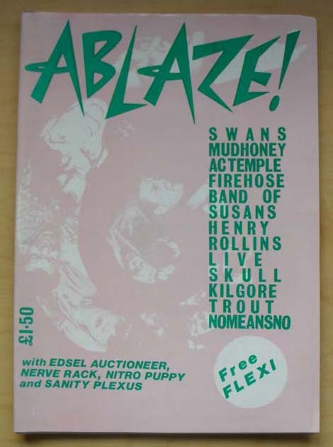 VARIOUS INDIE 1989 - ABLAZE! - Magazine