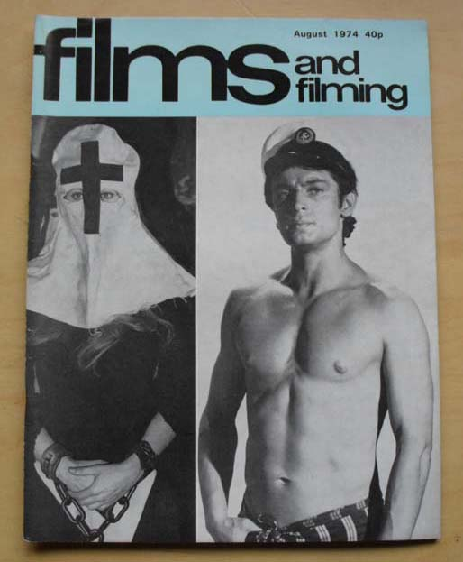 NATHALIE DELON/LEIGH LAWSON - FILMS AND FILMING