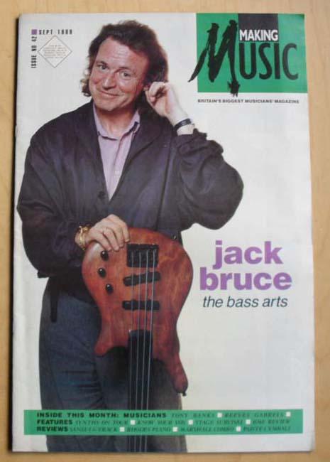 JACK BRUCE - MAKING MUSIC