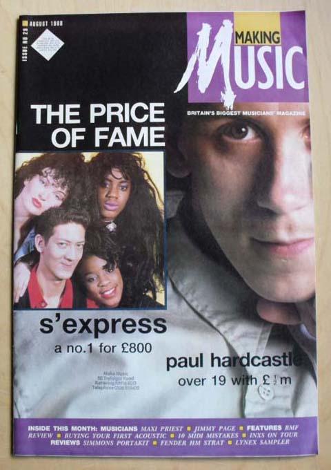 S'EXPRESS/PAUL HARDCASTLE - MAKING MUSIC