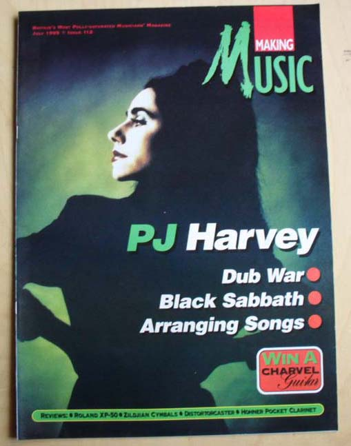 P J HARVEY - MAKING MUSIC