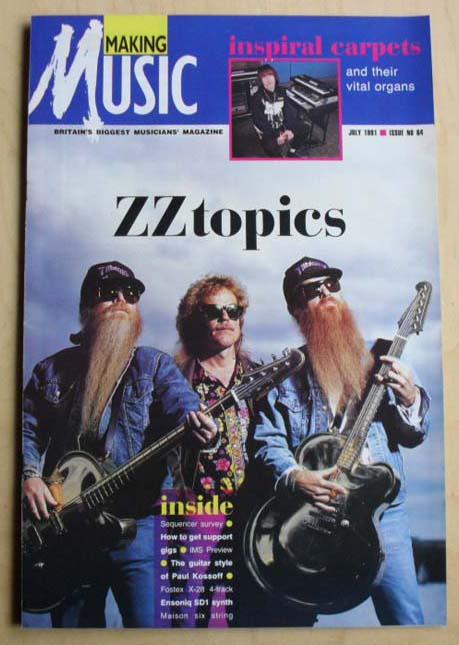 ZZ TOP - MAKING MUSIC