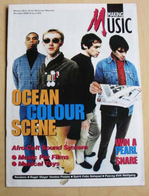 OCEAN COLOUR SCENE - MAKING MUSIC