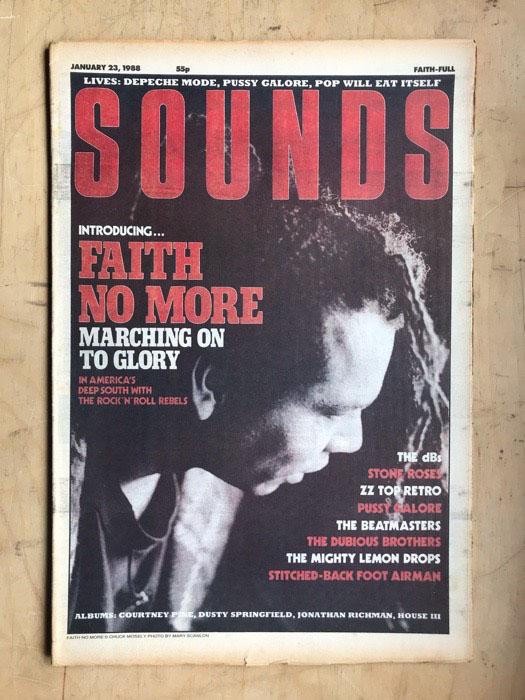FAITH NO MORE - SOUNDS