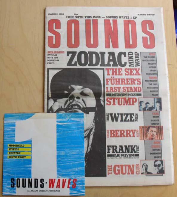 ZODIAC MINDWARP/CELTIC FROST - SOUNDS/MOTORHEAD