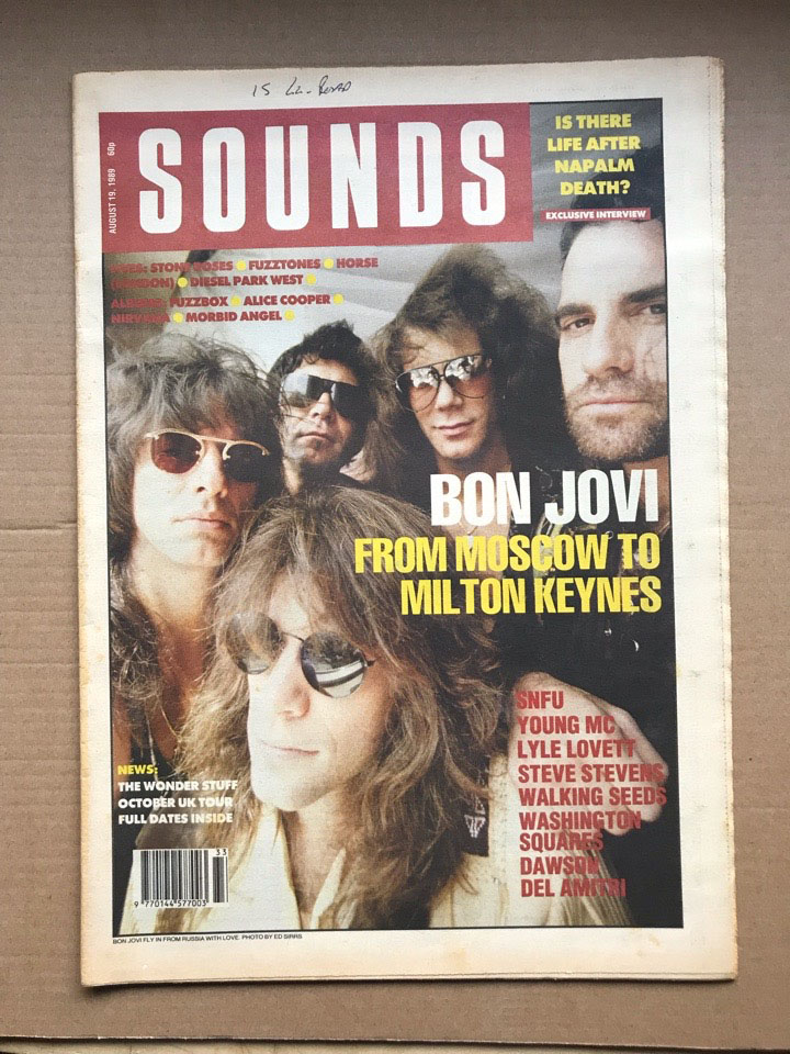 BON JOVI - SOUNDS - Magazine