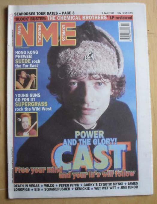 CAST - NME - Magazine