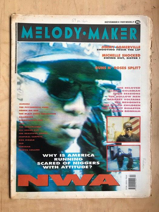 N.W.A. - MELODY MAKER - Magazine