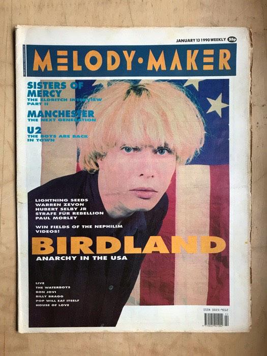 BIRDLAND - MELODY MAKER - Magazine