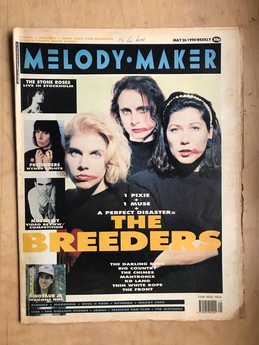 BREEDERS - MELODY MAKER - Magazine