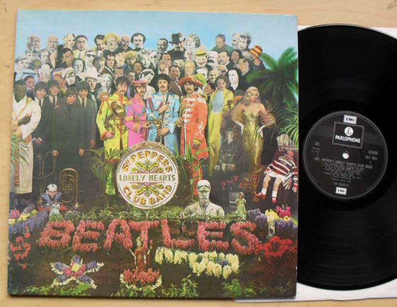 Beatles Sgt Peppers Records Vinyl And Cds Hard To Find