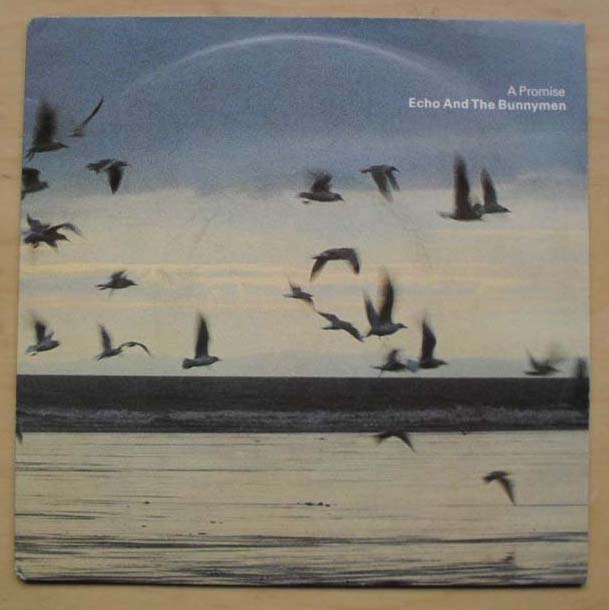ECHO AND THE BUNNYMEN - A PROMISE - 7inch x 1