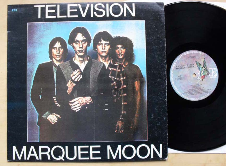 TELEVISION - MARQUEE MOON(GREEK) - 33T