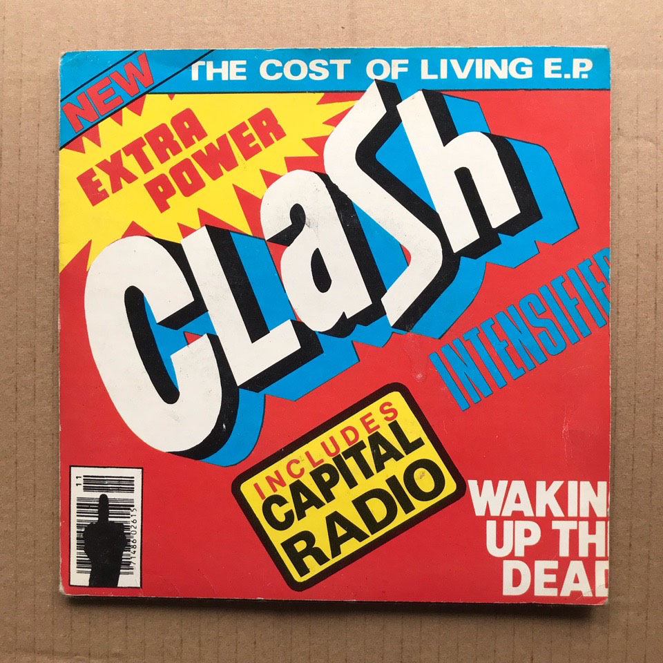 CLASH -  vinyl records and cds
