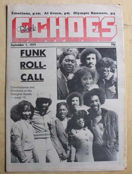 COMMODORES / EMOTIONS - BLACK ECHOES - Magazine