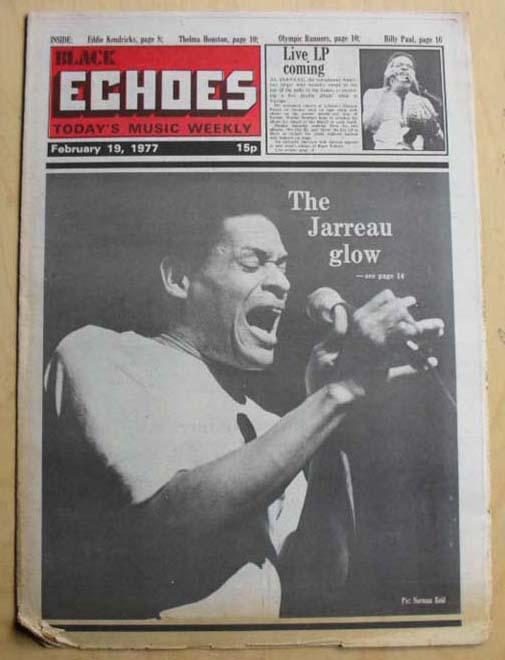 AL JARREAU - BLACK ECHOES - Magazine