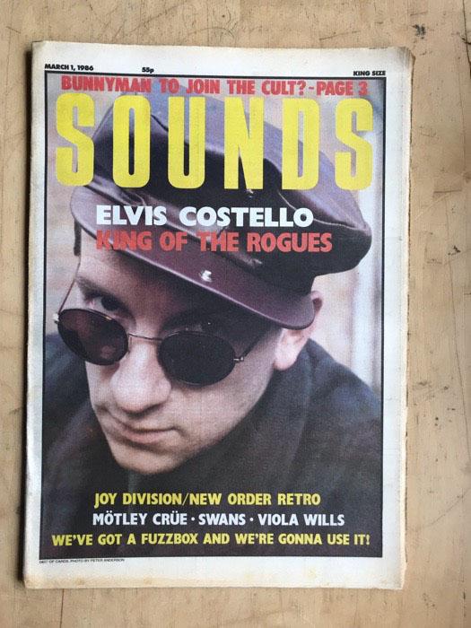 ELVIS COSTELLO - SOUNDS - Magazine