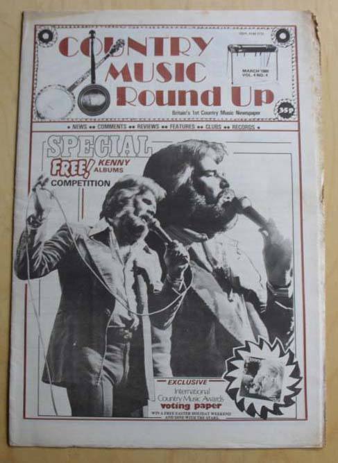 KENNY ROGERS - Country Music Round Up