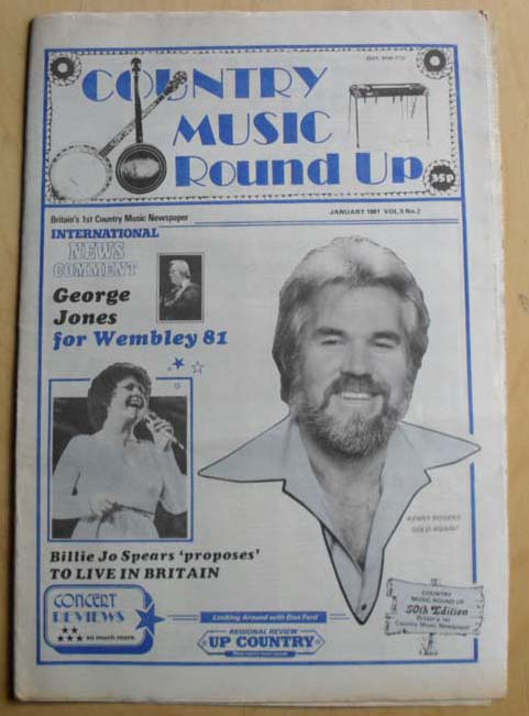 Country Music Round Up - KENNY ROGERS