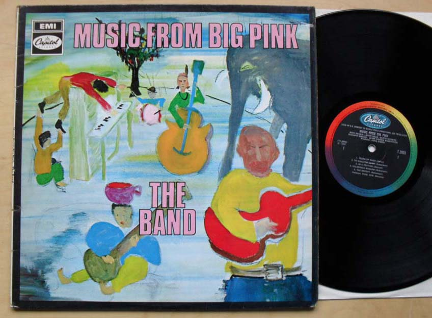 BAND - MUSIC FROM BIG PINK(MONO) - LP
