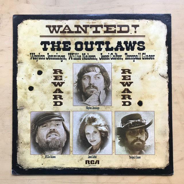 Waylon Jennings Wanted The Outlaws Records Lps Vinyl