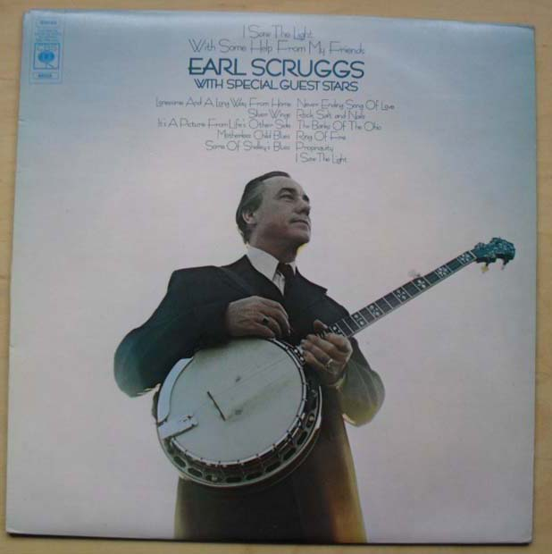 EARL SCRUGGS - I SAW THE LIGHT WITH SOME HELP..