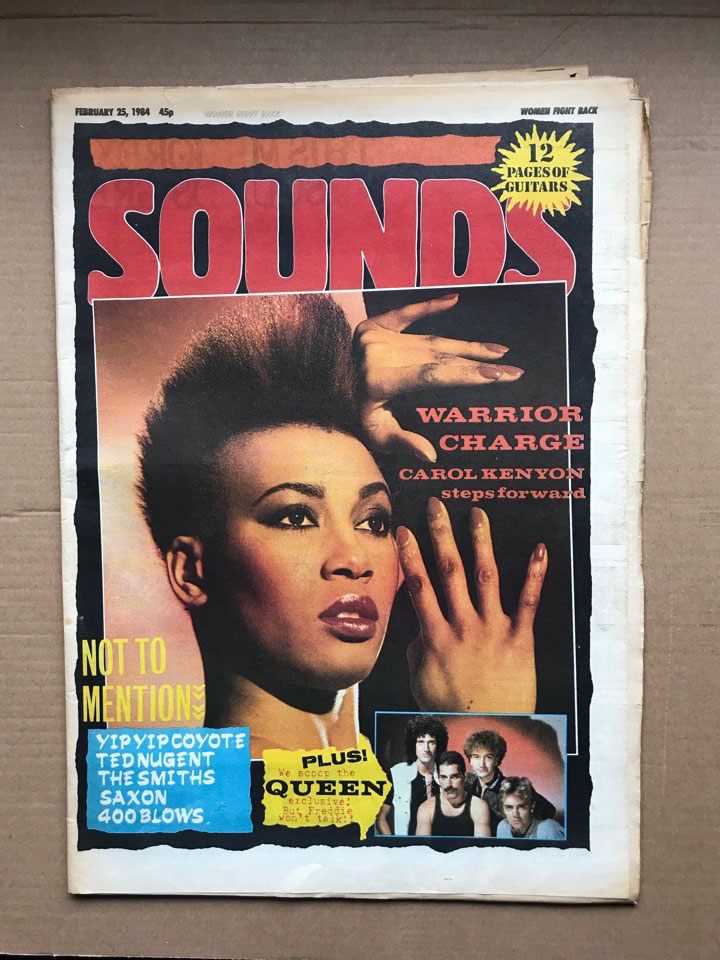 CAROL KENYON - SOUNDS - Magazine