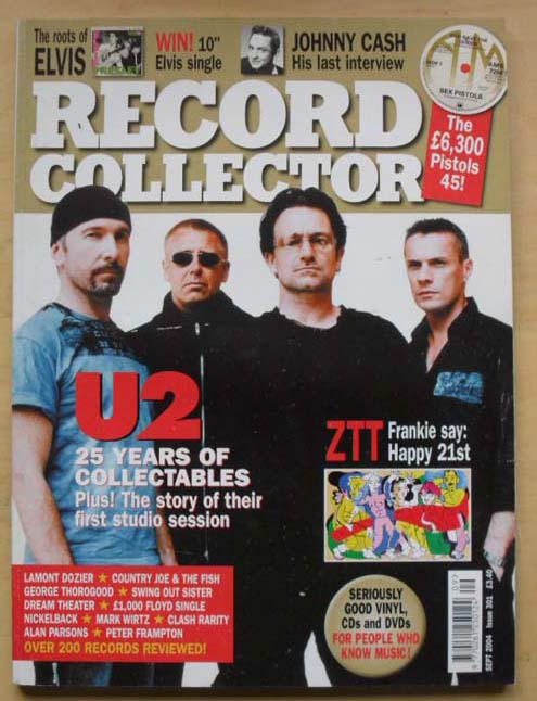 U2 - RECORD COLLECTOR #301