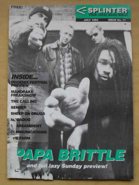 PAPA BRITTLE - SPLINTER #17