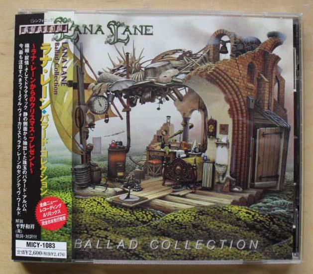 LANA LANE - BALLAD COLLECTION (JAPAN)